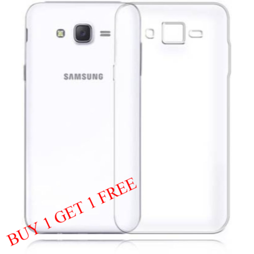 Samsung Galaxy J2 - 2015 Back Transparent Soft Case Cover 1