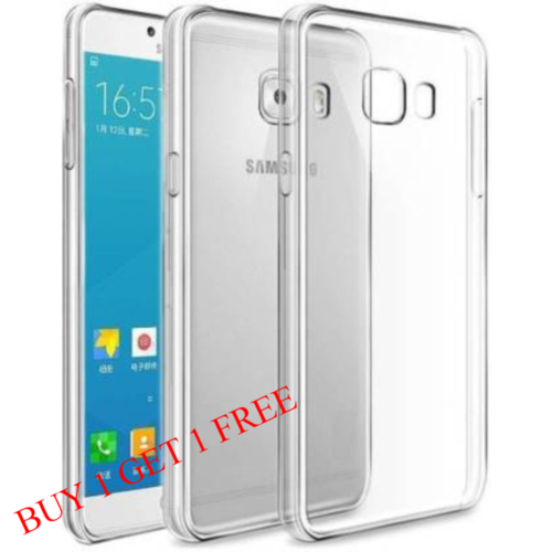 Samsung Galaxy On Max Back Transparent Soft Case Cover 1