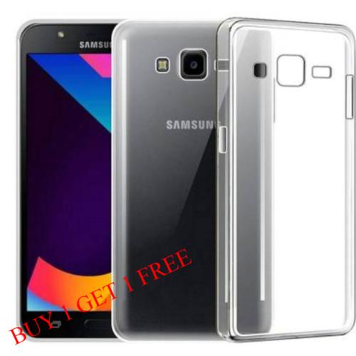 Samsung Galaxy J7 Nxt Back Transparent Soft Case Cover 1