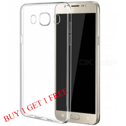 Samsung Galaxy J7 Nxt Back Transparent Soft Case Cover 1