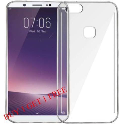 VIVO V7 Plus Back Transparent Soft Case Cover 1