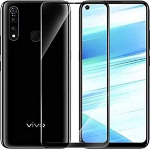 Vivo Z1 Pro Tempered Glass Screen Protector Full Glue Black 1