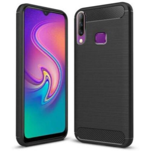 Infinix S4 Back Cover Case Soft Black Colour 1