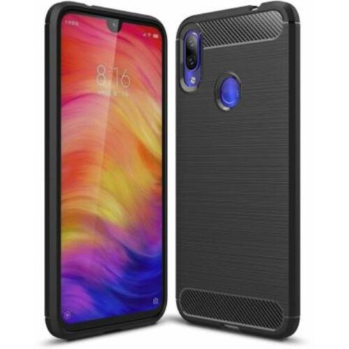 Redmi Note 7 Pro Back Cover Case Soft Black Colour 1