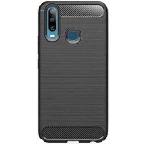 Vivo Z1 Pro Back Cover Case Soft Black Colour 1