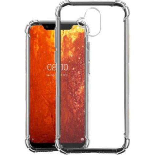 Nokia 8.1 Transparent Soft Back Cover Case 1