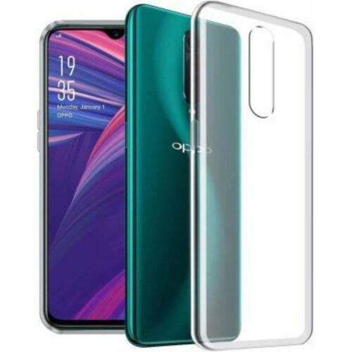 Oppo F11 Transparent Soft Back Cover Case 1