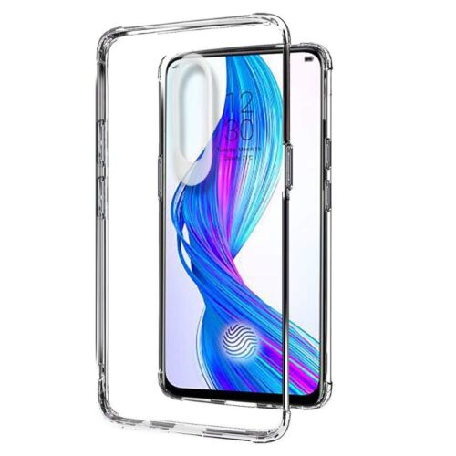 Realme X Transparent Soft Back Cover Case 1