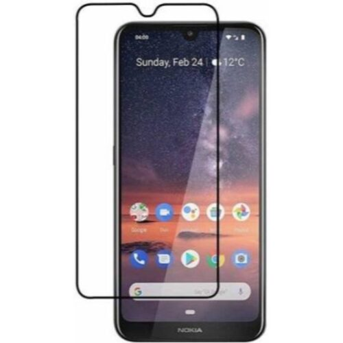 Nokia 3.2 Tempered Glass Screen Protector Full Glue Black 1