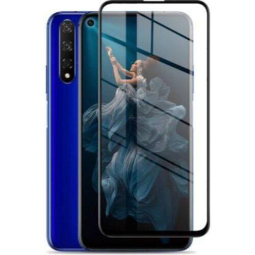 Honor 20 Tempered Glass Screen Protector Full Glue Black 1