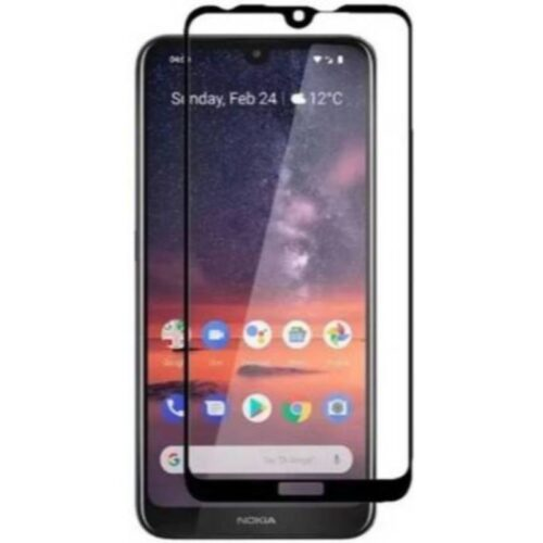 Nokia 3.2 Tempered Glass Screen Protector Full Glue Black 1