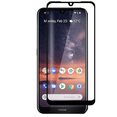 Nokia 4.2 Tempered Glass Screen Protector Full Glue Black 1