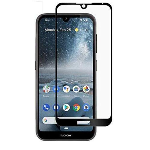 Nokia 4.2 Tempered Glass Screen Protector Full Glue Black 1