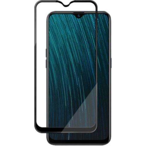 Oppo F11 Tempered Glass Screen Protector Full Glue Black 1