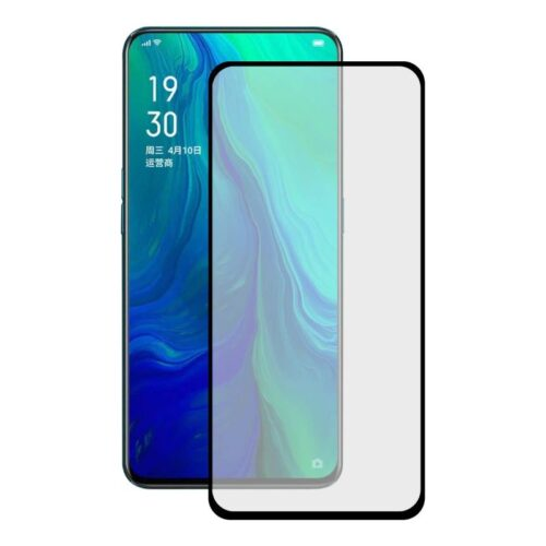 OPPO Reno 10x Zoom (6.6 inches) Tempered Glass Screen Protector Full Glue Black 1