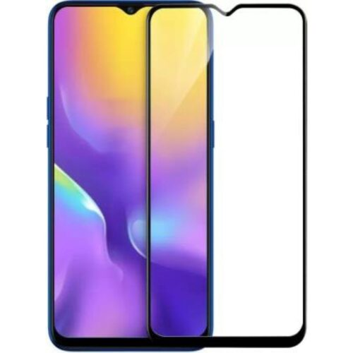 Realme U1 Tempered Glass Screen Protector Full Glue Black 1