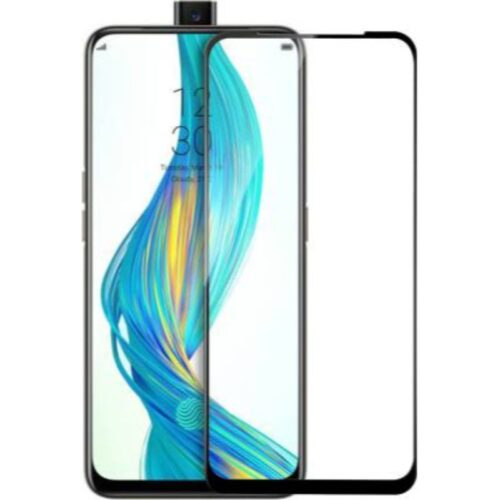 Realme X Tempered Glass Screen Protector Full Glue Black 1