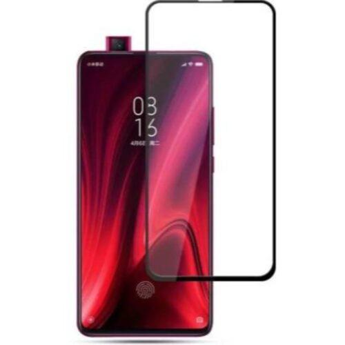 Redmi Mi K20 Tempered Glass Screen Protector Full Glue Black 1