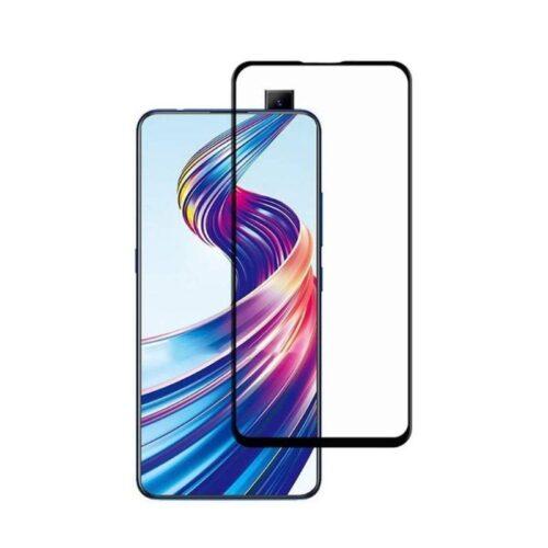 Vivo V15 Tempered Glass Screen Protector Full Glue Black 1