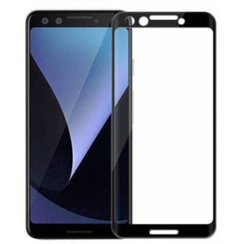 Google Pixel 3 Tempered Glass Screen Protector Full Glue Black
