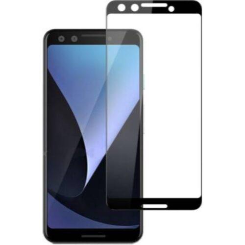 Google Pixel 3 Tempered Glass Screen Protector Full Glue Black 1