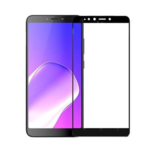Infinix Hot 6 Pro Tempered Glass Screen Protector 6D/11D Full Glue Black 1