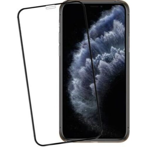 iPhone 11 Pro (5.8 inches) Tempered Glass Screen Protector 6D/11D Full Glue Black 1