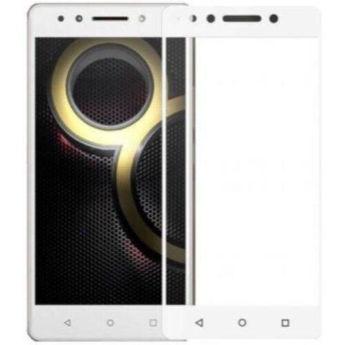 Lenovo K8 Note Tempered Glass Screen Protector 6D/11D Full Glue White 1