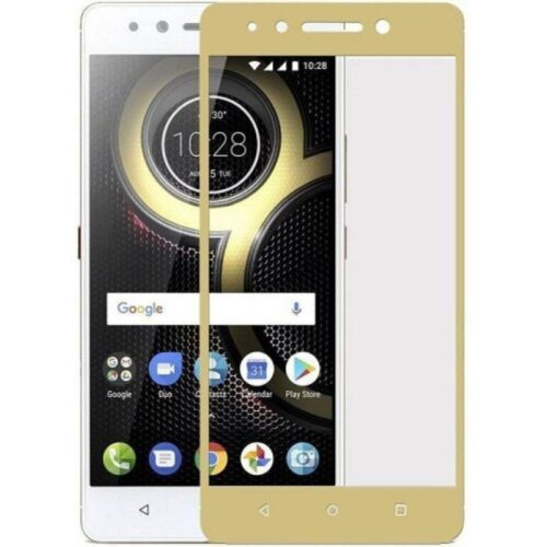Lenovo K8 Note Tempered Glass Screen Protector 6D/11D Full Glue Gold 1