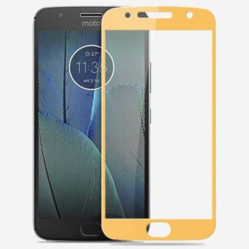 Motorola Moto G5s Plus Tempered Glass Screen Protector 6D/11D Full Glue Gold 1