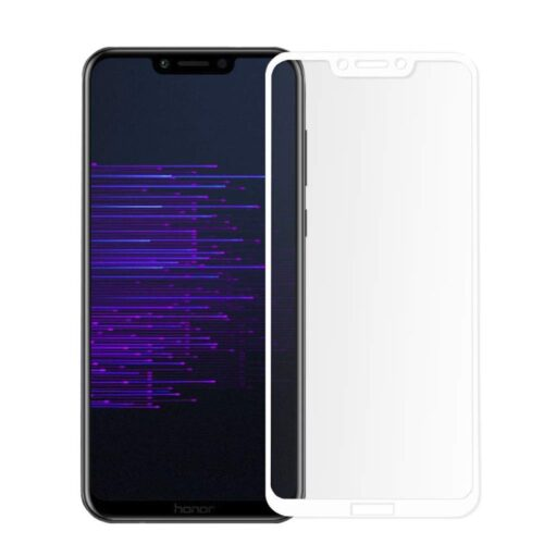 Tigerify Tempered Glass Screen Protector Full Glue 6D/11D White For Honor Play 1