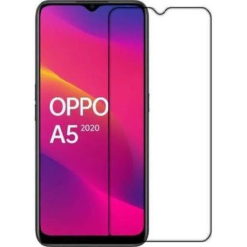Oppo A5 2020 Tempered Glass Screen Protector 6D/11D Full Glue Black 1