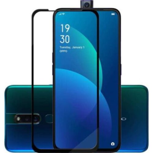 Oppo F11 Pro Tempered Glass Screen Protector 6D/11D Full Glue Black 1
