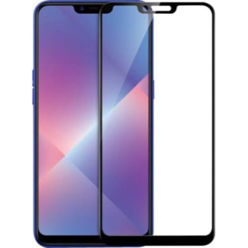 OPPO Realme C1 Tempered Glass Screen Protector 6D/11D Full Glue Black 1