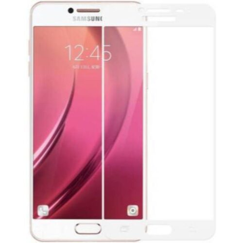 Samsung Galaxy J8 Tempered Glass Screen Protector 6D/11D Full Glue White 1