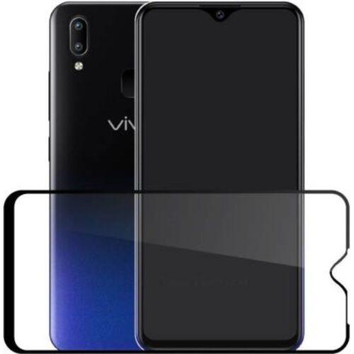 Vivo V11i Tempered Glass Screen Protector 6D/11D Full Glue Black 1
