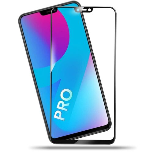 Vivo V9 Pro Tempered Glass Screen Protector 6D/11D Full Glue Black 1