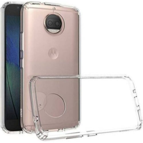 Motorola Moto G6 Plus Transparent Soft Back Cover Case 1