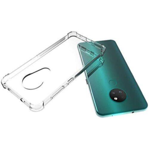 Nokia 6.2 Transparent Soft Back Cover Case 1