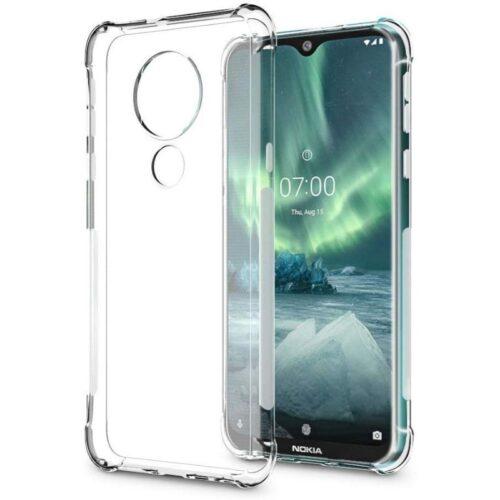 Nokia 7.2 Transparent Soft Back Cover Case 1