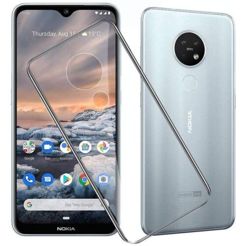 Nokia 7.2 Transparent Soft Back Cover Case 1