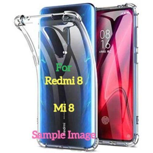 Redmi 8 Transparent Soft Back Cover Case 1