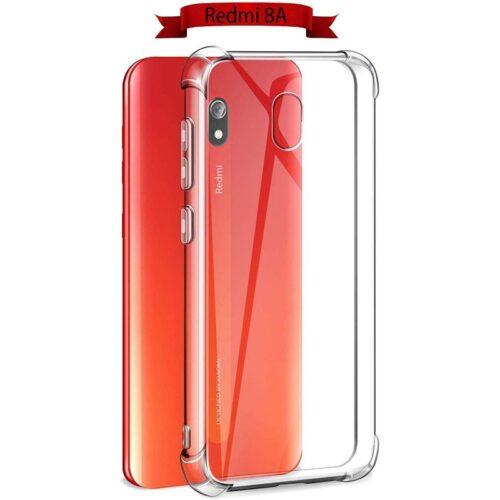 Xiaomi Redmi 8A Transparent Soft Back Cover Case 1