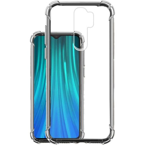 Redmi Note 8 Pro Transparent Soft Back Cover Case 1