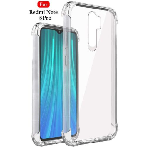 Redmi Note 8 Pro Transparent Soft Back Cover Case 1