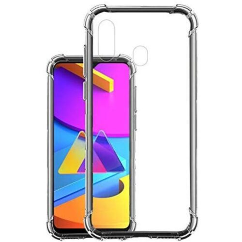 Samsung Galaxy M10s Transparent Soft Back Cover Case 1
