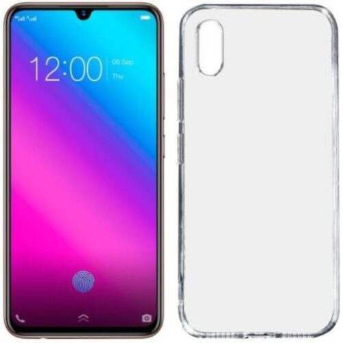 Vivo V11 Transparent Soft Back Cover Case 1