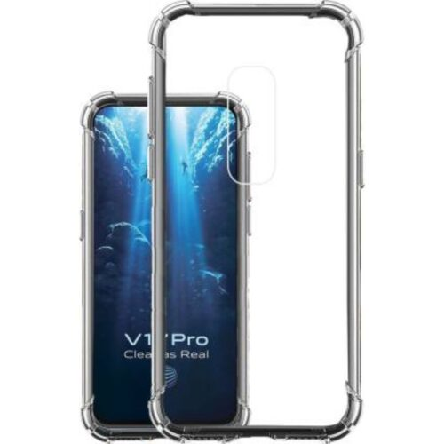 Vivo V17 Pro Transparent Soft Back Cover Case 1