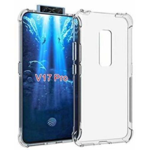 Vivo V17 Pro Transparent Soft Back Cover Case 1