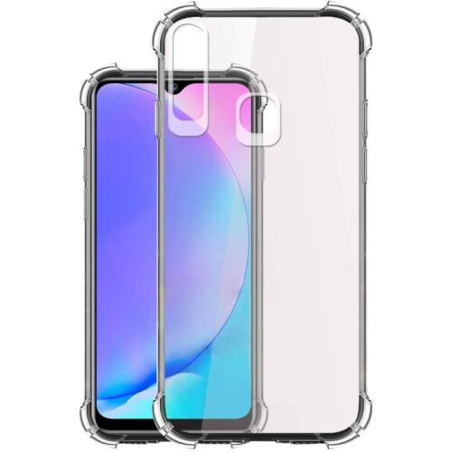 Vivo Y12 Transparent Soft Back Cover Case 1